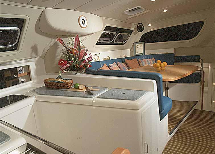 Yachten von innen  Yacht 3+4